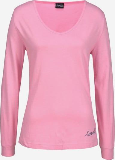 Bluză de noapte VIVANCE pe roz, Vizualizare produs