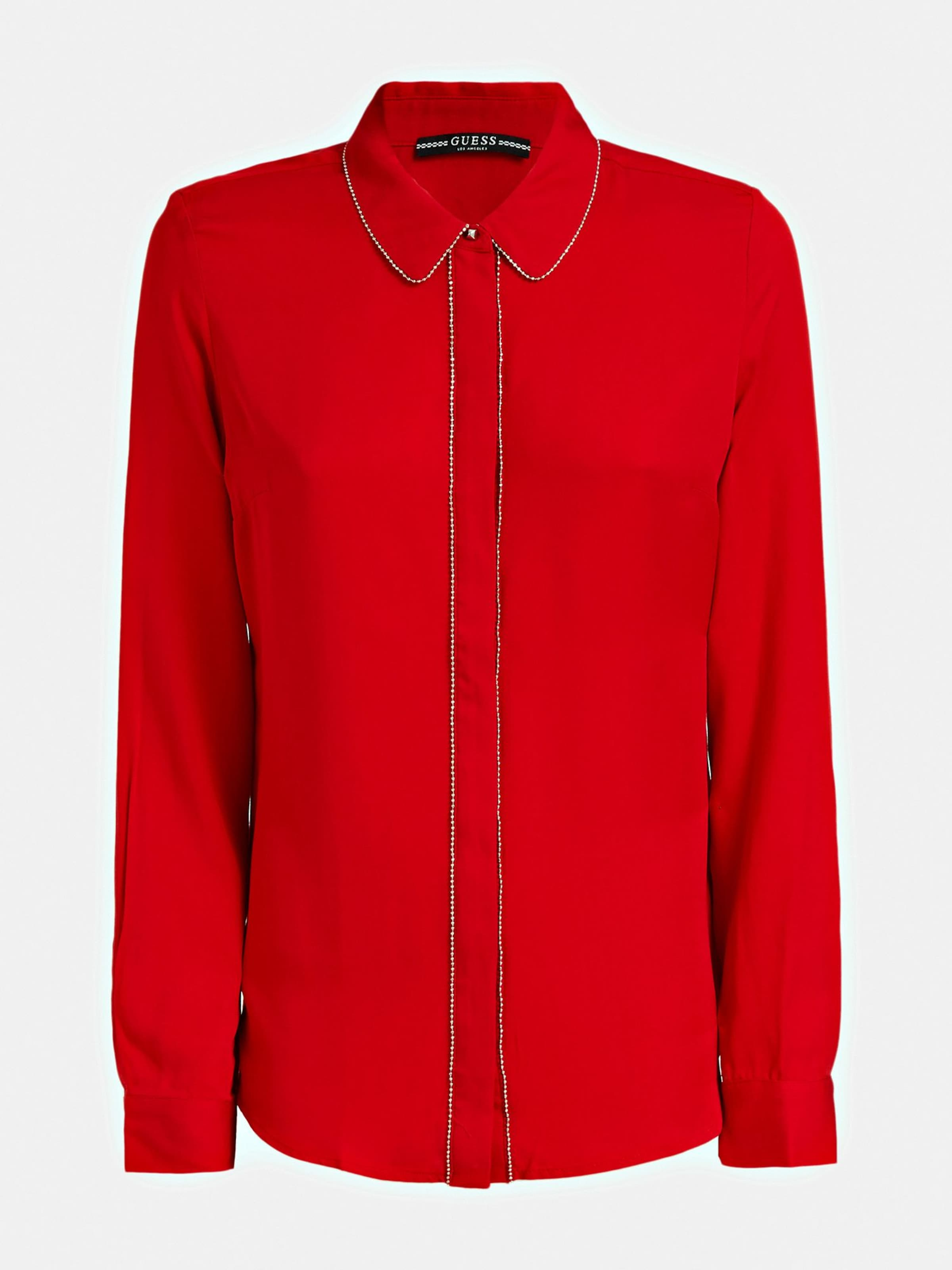 Rot Bluse In Bluse Guess Guess zGpMLUVqS