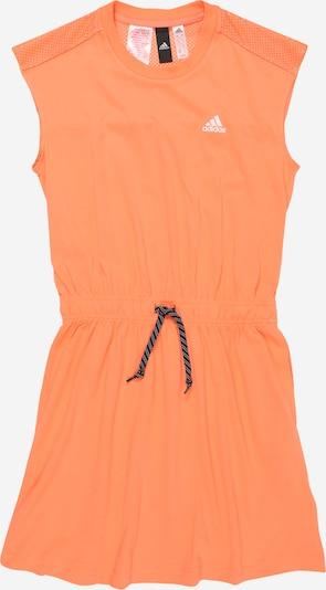 ADIDAS PERFORMANCE Športové šaty - oranžová: Pohľad spredu