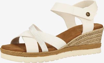 MUSTANG Sandalen in weiß, Produktansicht