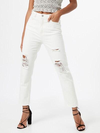 Trendyol Jean en blanc, Vue avec modèle
