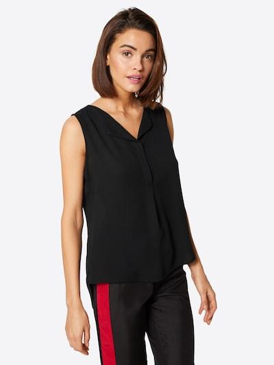 VILA Blusentop in schwarz, Modelansicht