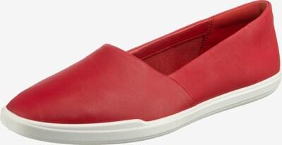 ECCO Simpil W Sportliche Slipper in rot / weiß, Produktansicht