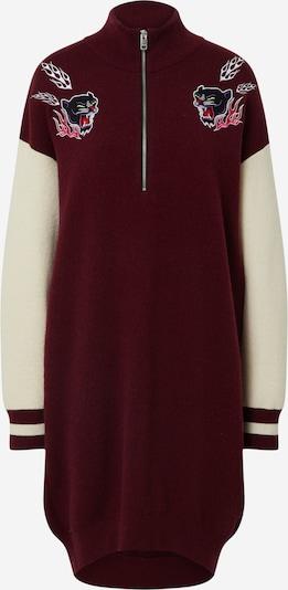 DIESEL Robe 'M-Ashlee' en rouge / blanc, Vue avec produit