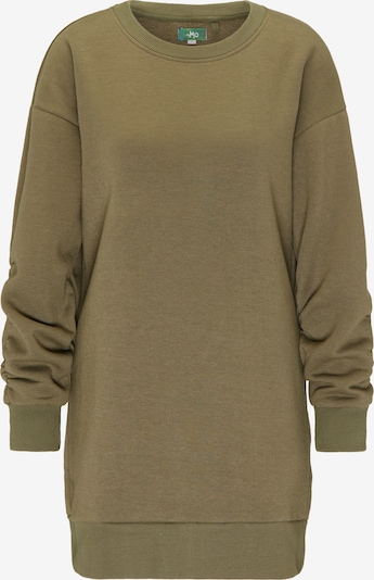 MYMO Pullover in oliv: Frontalansicht
