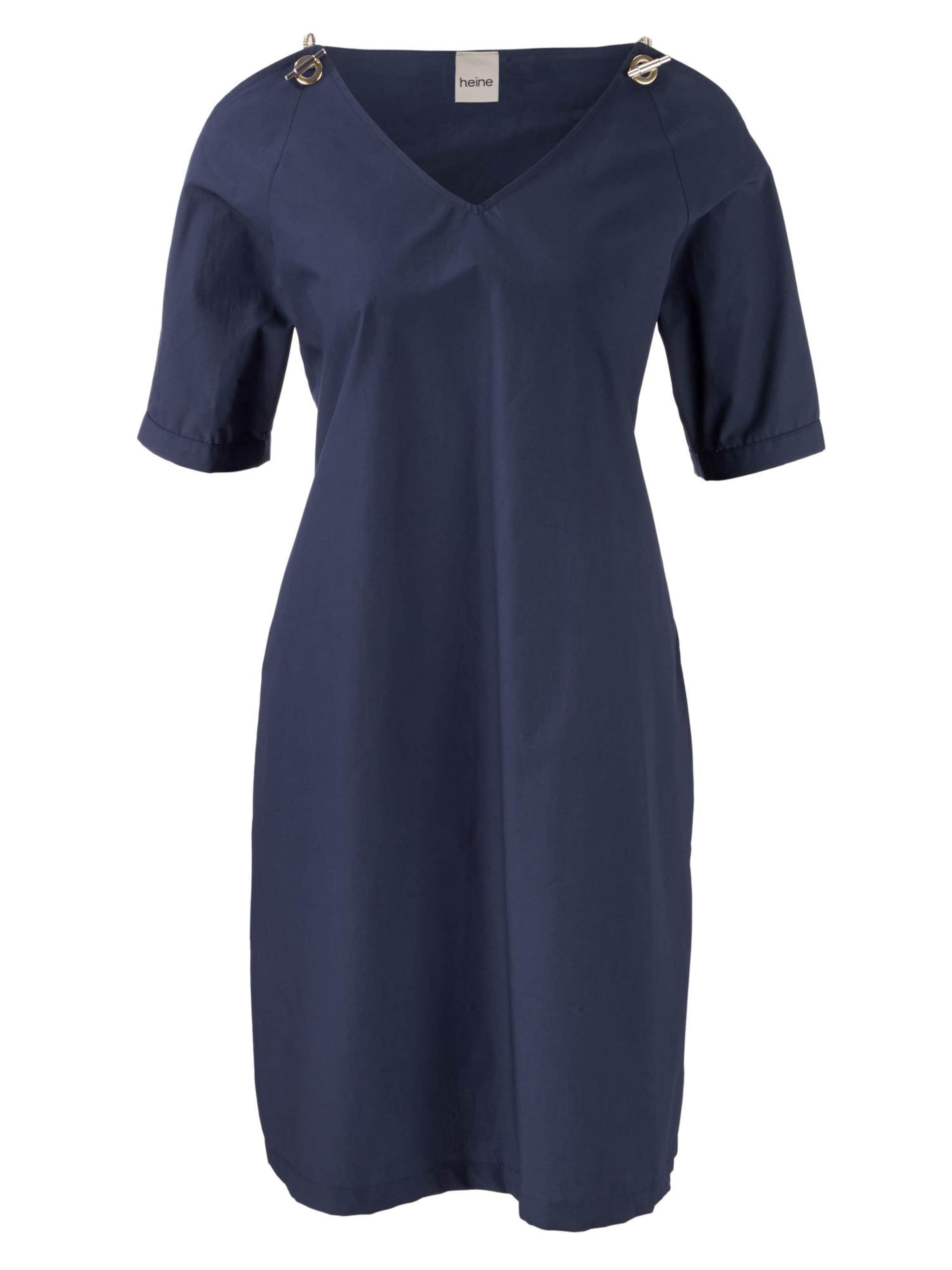 In Heine Nachtblau Trägern Extravaganten Mit Kleid wZPilTOkXu