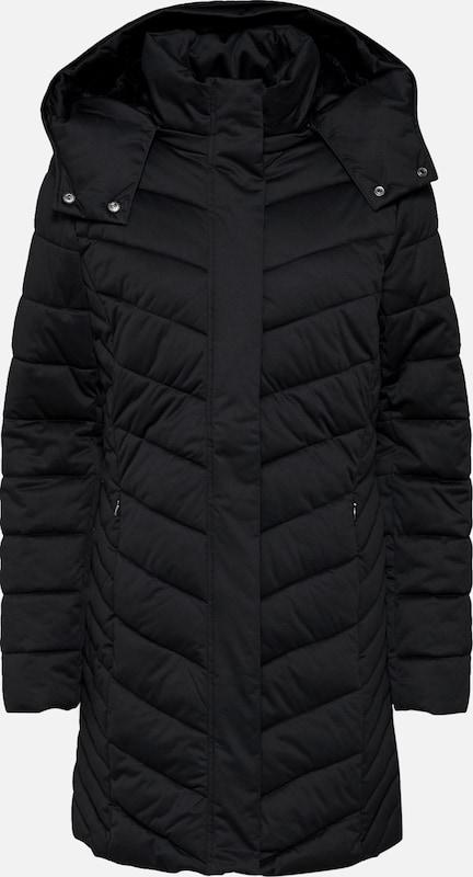 En Noir D'hiver 'polyfiller Esprit Manteau Coat' FclK1TJ3