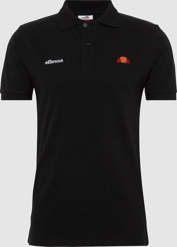 ELLESSE Poloshirt 'MONTURA' in schwarz  Freizeit, schlank, schlank
