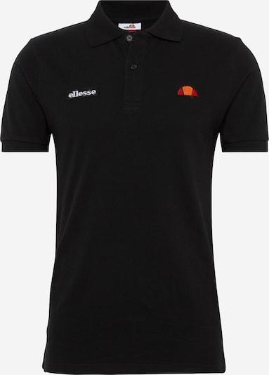 ELLESSE T-Shirt 'MONTURA' en orange / rouge / noir / blanc, Vue avec produit