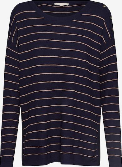 ESPRIT Pullover in navy / gold, Produktansicht