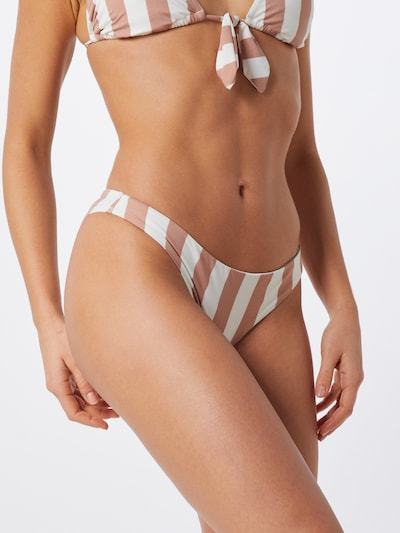 BILLABONG Bikinihose 'shady sands tropic' in rosa / weiß, Modelansicht