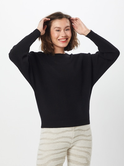 Noisy may Pullover in schwarz, Modelansicht