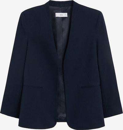 MANGO Blazer 'Boreal' en bleu nuit, Vue avec produit