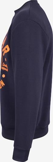 SOULSTAR Sweatshirt in Marine / Sinaasappel q9b9kWun