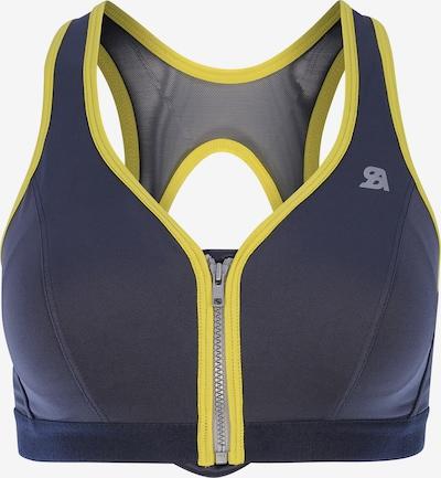 SHOCK ABSORBER Sport bh in de kleur Limoen / Antraciet, Productweergave