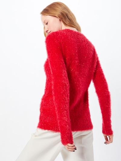 Fashion Union Pulover 'PENGUIN' | rdeča barva: Pogled od zadnje strani
