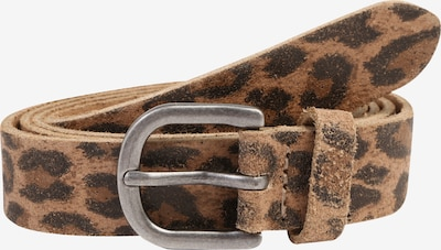 ESPRIT Gürtel 'leo belt' in braun / schwarz, Produktansicht