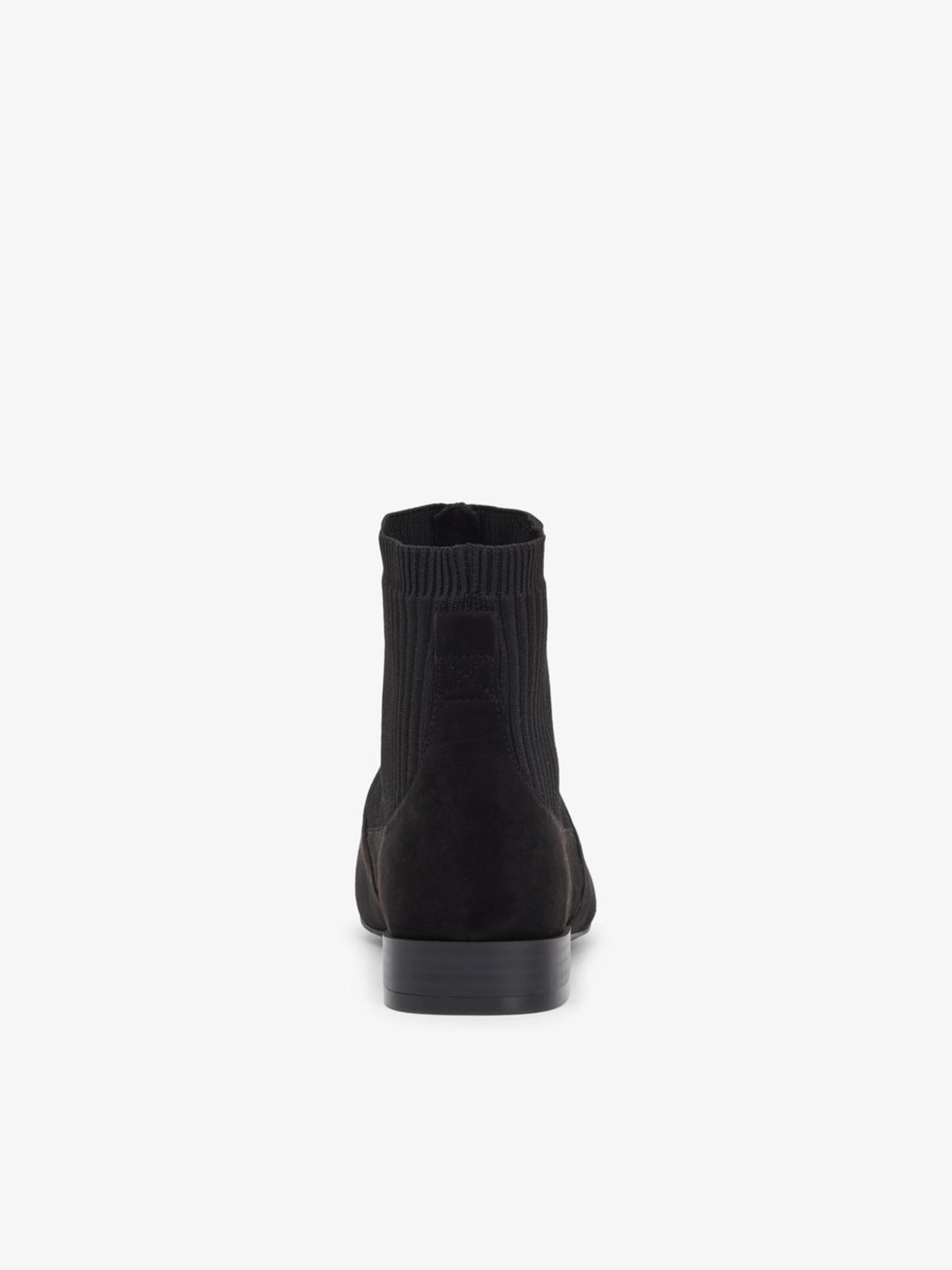 'anne' In BasaltgrauSchwarz Boots Chelsea Bianco Aj35qcR4L