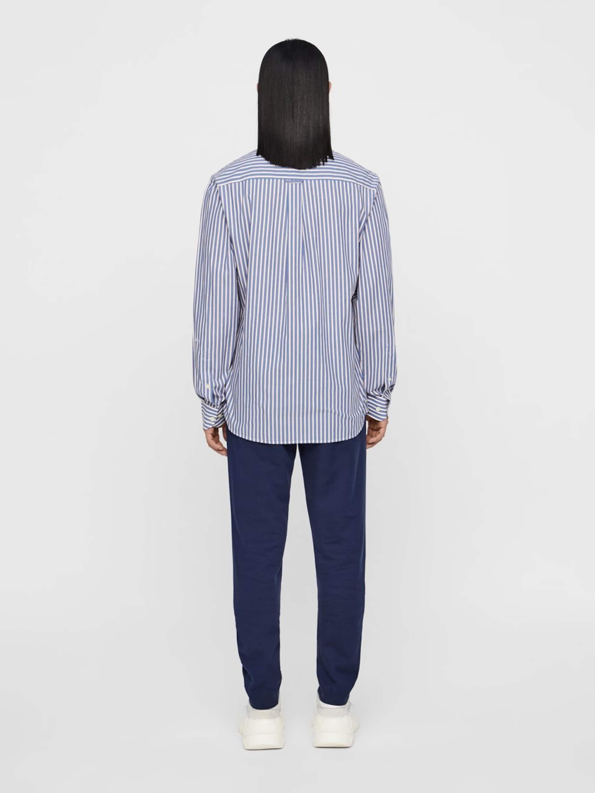 lindeberg J 'daniel In Overhemd pop' DuifblauwWit 8wOPn0kX