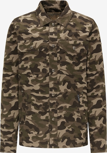 DREIMASTER Jacke in beige / grau / grün, Produktansicht