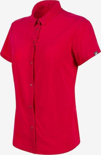 MAMMUT Hemd ' Trovat Light ' in rot, Produktansicht