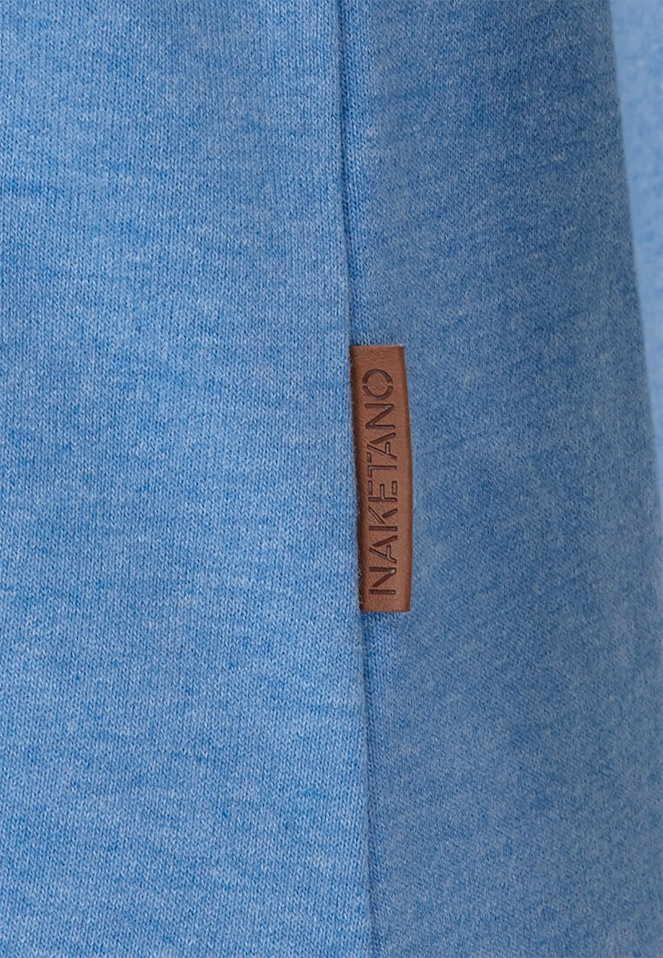 Naketano Bleu 'krokettenhorst' Sweat shirt Ciel En 7ymYgvIbf6