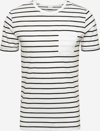 JACK & JONES T-Shirt 'Nikolai' in schwarz / weiß, Produktansicht