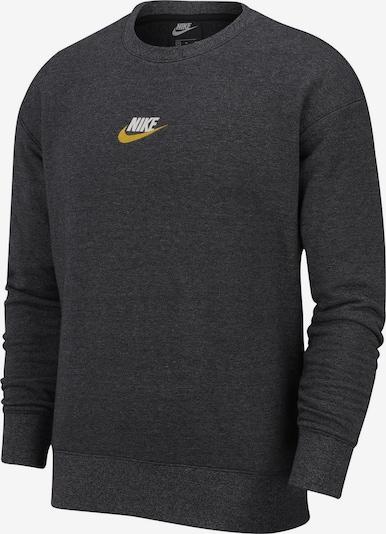 NIKE Sweater ' Heritage ' in dunkelgrau / schwarz, Produktansicht