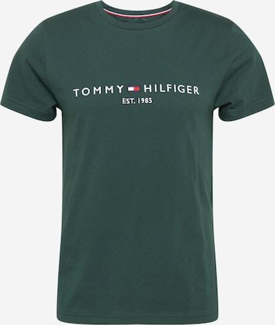 TOMMY HILFIGER Majica | mornarska / petrol / rdeča / bela barva, Prikaz izdelka