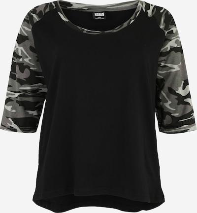 Urban Classics Curvy Shirt in grün / schwarz, Produktansicht