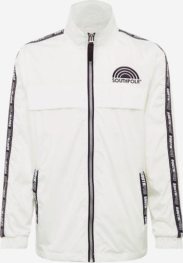 SOUTHPOLE Jacke 'Track' in dunkelblau / weiß, Produktansicht