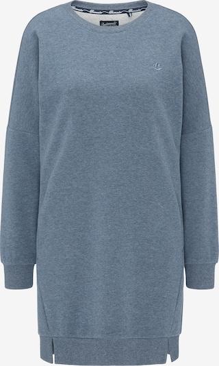 DREIMASTER Sweatshirtkleid in blau: Frontalansicht