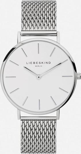 Liebeskind Berlin Uhr in silber / weiß, Produktansicht