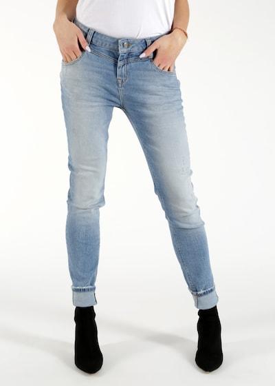 Miracle of Denim Jeans 'Diana' in blue denim, Modelansicht