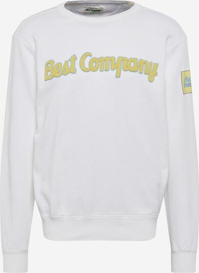 Best Company Sweatshirt in weiß, Produktansicht