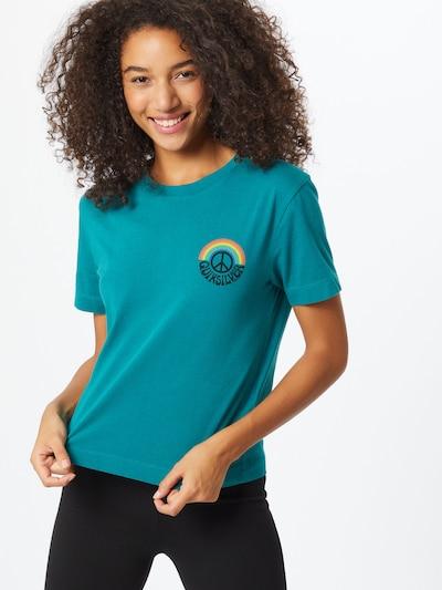 QUIKSILVER T-Shirt in petrol / mischfarben: Frontalansicht