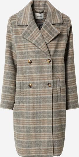 modström Between-seasons coat 'Destiny' in beige / grey, Item view