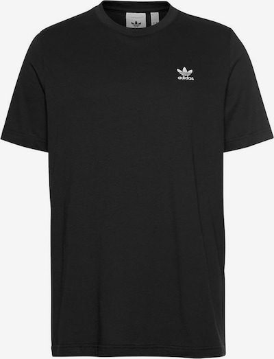 ADIDAS ORIGINALS T-Shirt 'Essential' in schwarz / weiß, Produktansicht