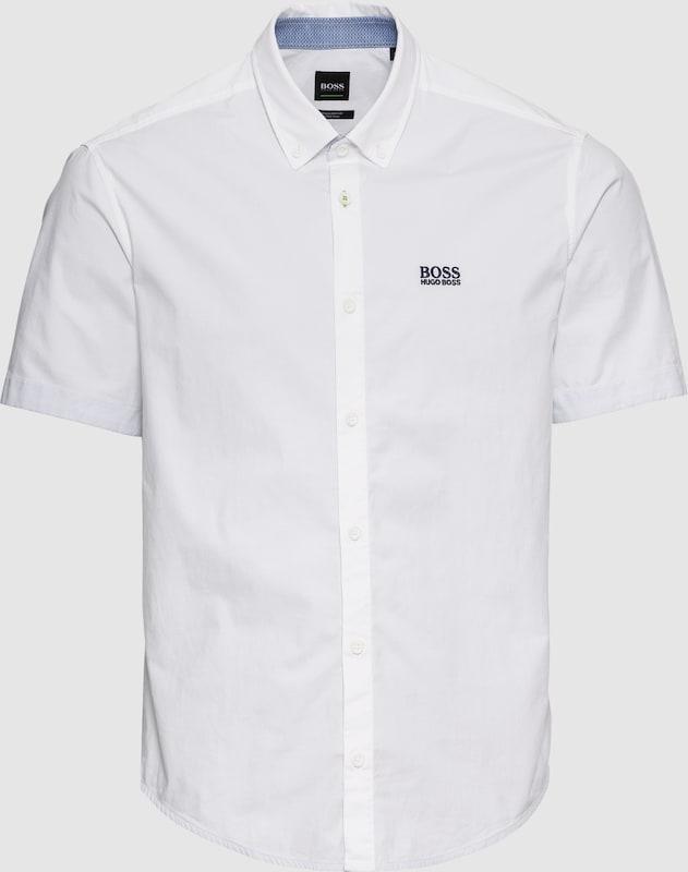 BOSS Hemd 'BIADIA_R 10205714 03' in weiß  Markenkleidung für Männer und Frauen