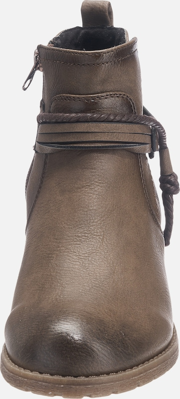 Tom Tailor Ankleboot With Cord-detail
