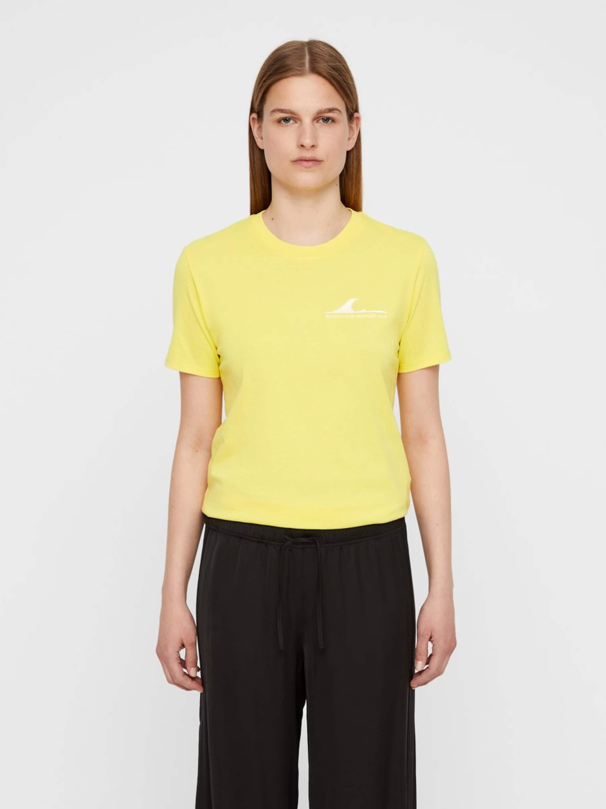 En Jaune Supima' T J 'monique shirt lindeberg g7vIYy6fb