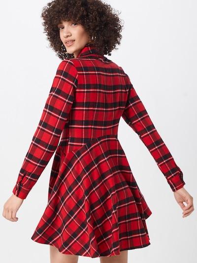 Palaidinės tipo suknelė iš Missguided , spalva - tamsiai mėlyna / raudona: Vaizdas iš galinės pusės