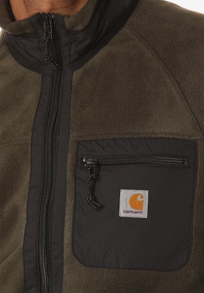 Carhartt WIP Sweatjacke in grau / khaki, Produktansicht