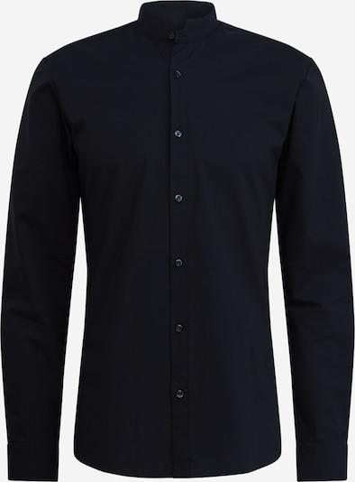 HUGO Overhemd 'Elvorini' in de kleur Zwart, Productweergave