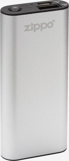 ZIPPO HeatBank™ 3 – Wiederaufladbarer Handwärmer und Powerbank in silbergrau, Produktansicht