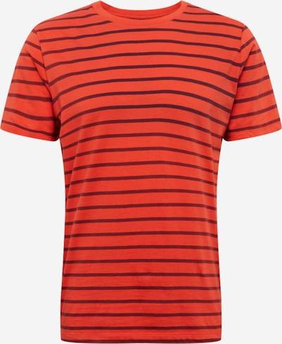 GAP Shirt 'CLASSIC T STRP' in de kleur Rood, Productweergave