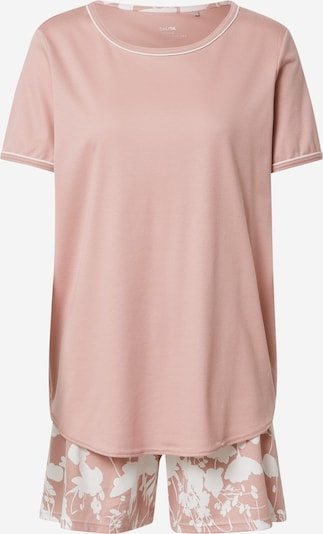 CALIDA Pyjamas 'Sweet Dreams' i lyserød / hvid, Produktvisning