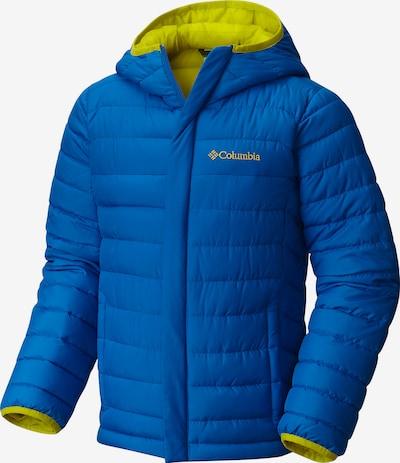 COLUMBIA Outdoorjacke 'Powder Lite Puffer' in blau / apfel, Produktansicht