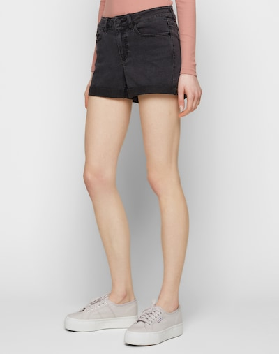 Noisy may Shorts in anthrazit, Modelansicht