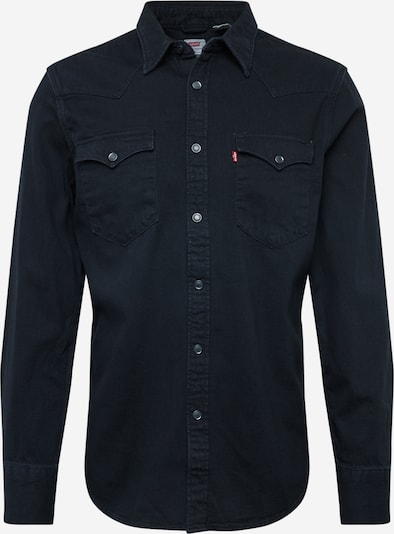 LEVI'S Hemd 'BARSTOW WESTERN STANDARD' in black denim, Produktansicht